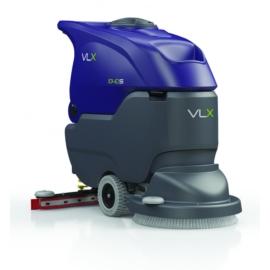 VLX 1040S padlótisztító gép menetmotorral és kefével