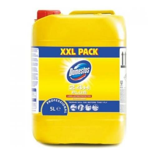 Domestos XXL Pack Citrus fresh fertőtlenítő tisztítószer, citrom illatú, 5 L