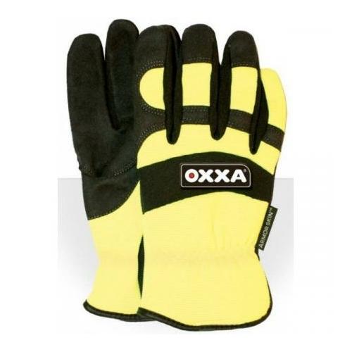 OXXA X-Mech-615 thermo munkavédelmi kesztyű, bélelt, téli, láthatósági, M