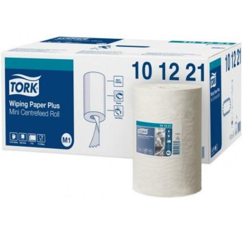 TORK 101221 Advanced belsőmagos kéztörlő papír plusz, 2 rétegű, 14-es, fehér (75 méter/tekercs, 11 tekercs/karton)