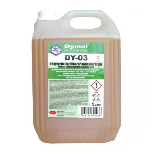 DY-03 fénytartó tisztítószer koncentrátum, 5 L