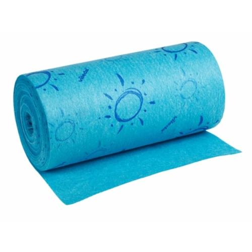 VILEDA Quick'n Dry roll szivacskendő tekercs, kék (10 méter/tekercs)