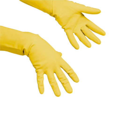 VILEDA Multipurpose kesztyű, sárga, M