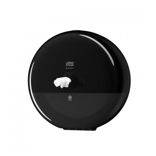 TORK 681008 Elevation SmartOne Mini tekercses toalettpapír-adagoló, műanyag, fekete