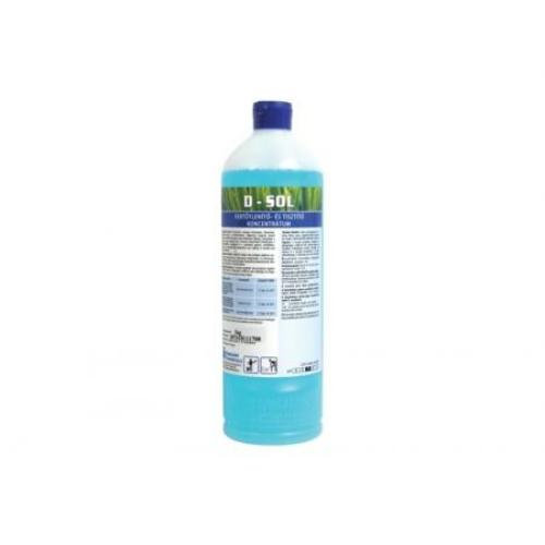HC D-Sol folyékony fertőtlenítő- és tisztítószer koncentrátum, 1 kg