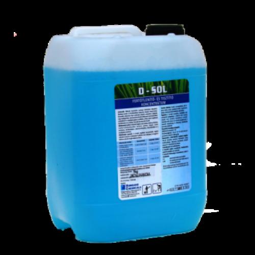 HC D-Sol folyékony fertőtlenítő- és tisztítószer koncentrátum, 5 kg