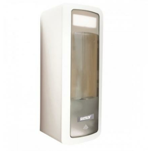 KATRIN 44672 érintésmentes folyékonyszappan-adagoló, műanyag, fehér, 500 ml