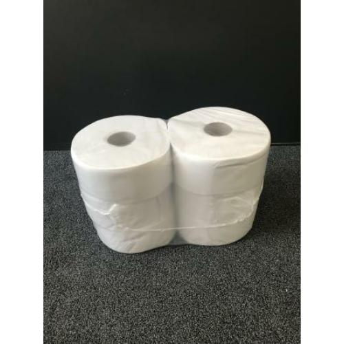 RLP közületi toalettpapír, 2 rétegű, 23 cm átmérőjű, 100% cellulóz, hófehér (170 méter/guriga, 6 guriga/zsugor)