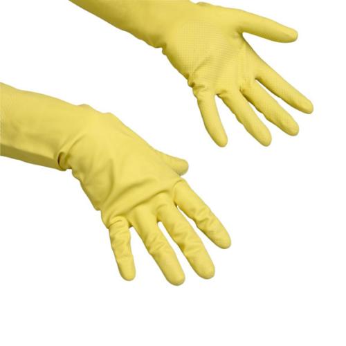 VILEDA Contract gumikesztyű, sárga, S (1 pár/csomag)