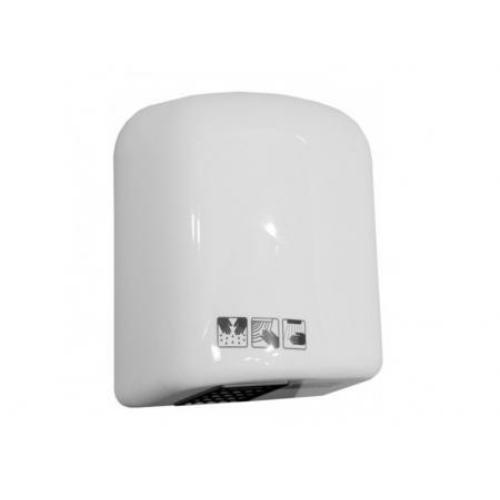 Merida Ecoflow kézszárító, ütésálló műanyag, fehér, 1650 W teljesítményű, infravezérléses, automatikus ki-bekapcsolás, 90 sec működési ciklussal