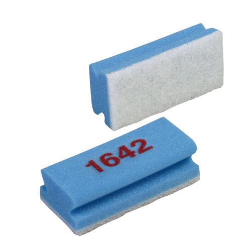 """VILEDA """"1642"""" kék szivacs fehér dörzsivel (7x15cm)"""