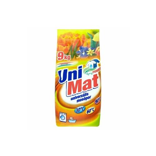 UniMat Spring Power univerzális mosópor, 9 kg