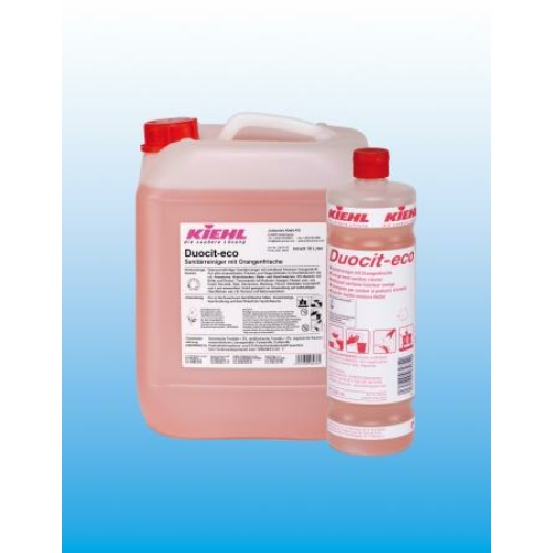 KIEHL Duocit-Eco szanitertisztító szer, narancs illattal, 10 L - ÖKO