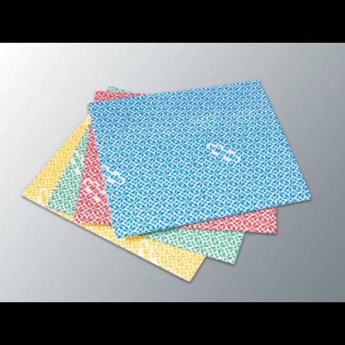 VILEDA WiPro általános törlőkendő antibacterial, piros (20 db/csomag)