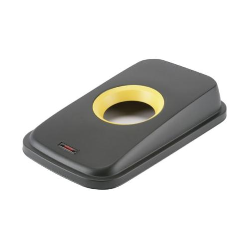 VILEDA Geo palack fedő, fekete/sárga