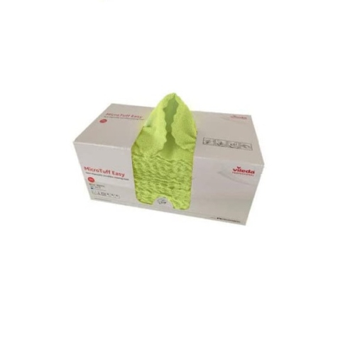 VILEDA MicroTuff Easy, sárga (50 db/doboz)