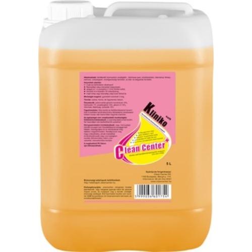 Kliniko-Soft folyékony fertőtlenítő kéztisztító szappan, 5 L