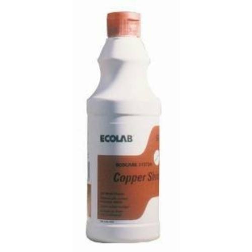 ECOLAB Copper Shine Special speciális fémtisztító szer, zsírtalanító-vízkőtelenítő, 500 ml