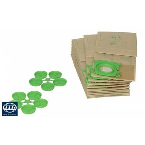 SEBO porzsák 370/470 Electronic, Automatic XP készülékekhez