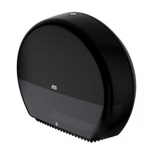 TORK 554008 Elevation Jumbo toalettpapír-adagoló, műanyag, fekete