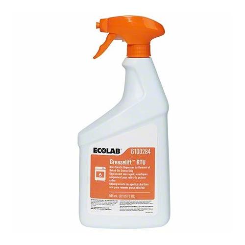 ECOLAB Greaselift RTU konyhai tisztítószer, nem maró zsíroldó hatással, szórófejes kiszerelésben, 750 ml