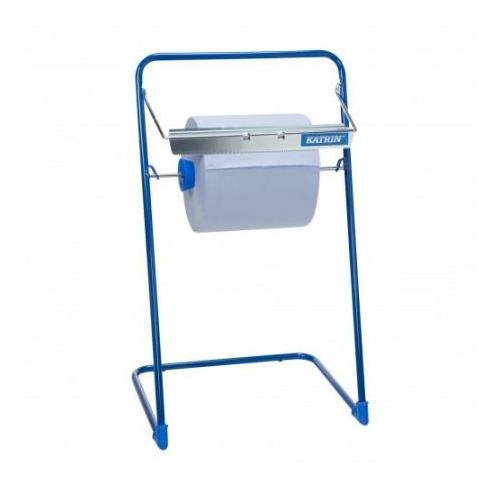 KATRIN 70914 ipari törlőpapír-tartó állvány, hordozható, kék