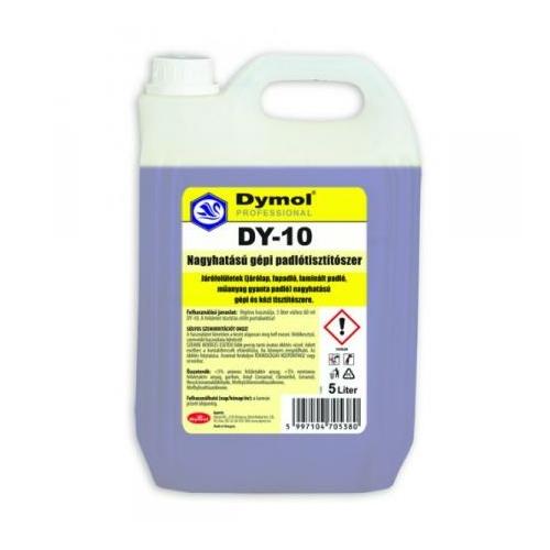 DY-10 nagyhatású gépi padlótisztító szer, 5 L