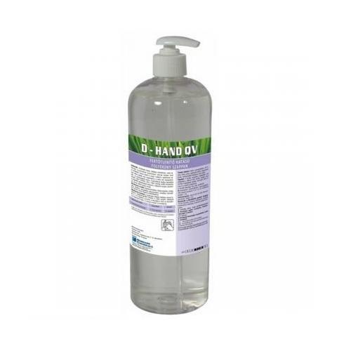 HC D-Hand QV fertőtlenítő hatású folyékony szappan, pumpás, 1 kg