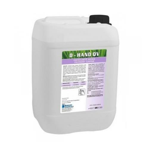 HC D-Hand QV fertőtlenítő hatású folyékony szappan, 20 kg