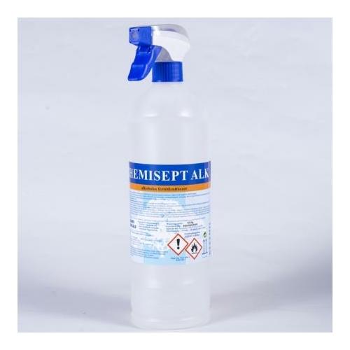 HC Chemisept ALK alkoholos fertőtlenítőszer + szórófej, 0,8 kg