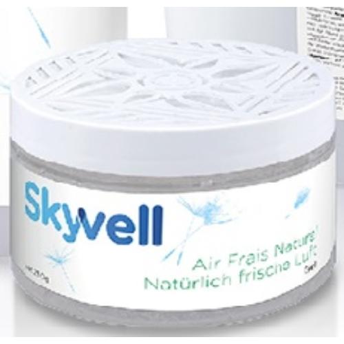 Skyvell zselés szagsemlegesítő, légfrissítő, 500 g (24 tégely/karton)
