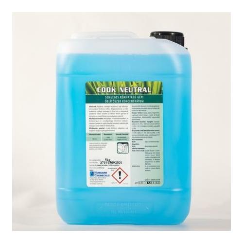 HC Cook Neutral semleges kémhatású gépi öblítőszer koncentrátum, 5 kg