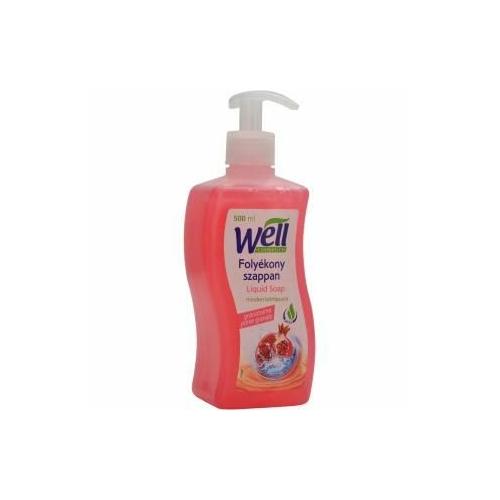 Well Cosmetics folyékony szappan, gránátalma, 500 ml