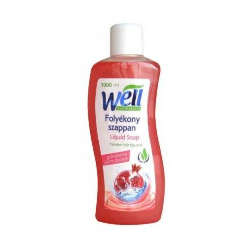 Well Cosmetics folyékony szappan, gránátalma, 1 L