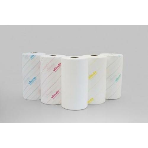 VILEDA MicroRoll perforált papírtörlő kendő, 25x35 cm/lap fehér (200 lap/guriga)
