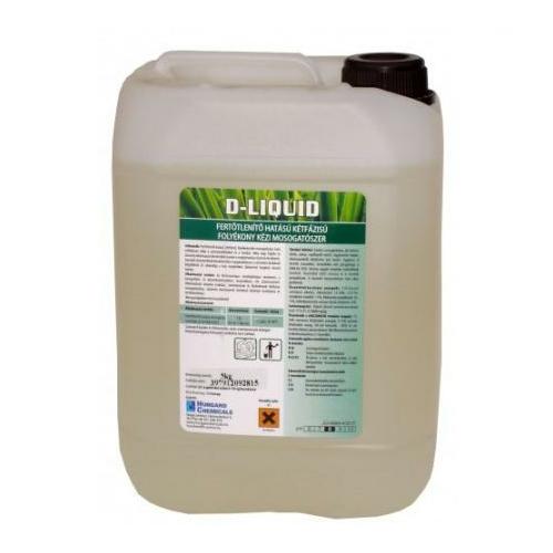 HC D-Liquid fertőtlenítő hatású kétfázisú folyékony kézi mosogatószer, 5 kg