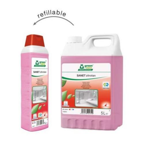 TANA Sanet Zitrotan citromsavas szanitertisztító szer, 5 L (Green Care) - ÖKO