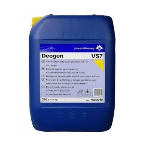 Diversey Deogen VS7 klóros fertőtlenítőszer (lágy vízhez), 20 L