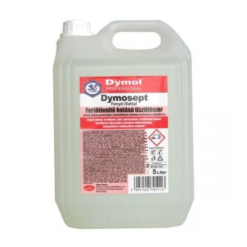 Dymosept klóros fertőtlenítő tisztítószer, fenyő illattal, 5 L
