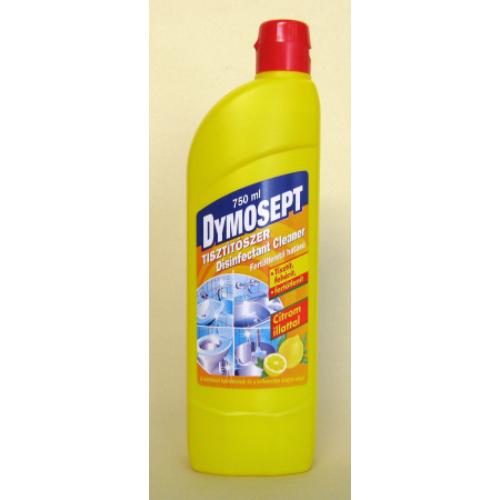 Dymosept klóros fertőtlenítő tisztítószer, citrom illattal, 750 ml