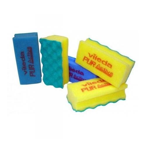 VILEDA Pur Active mosogatószivacs, kék