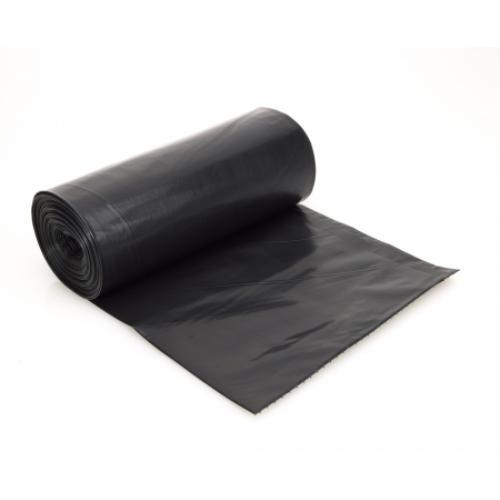 Kukazsák, 180 L, 90x120 cm, fekete (20 db/tekercs)