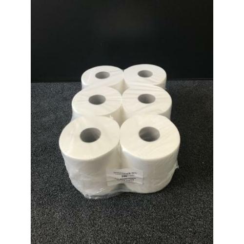 RLP közületi toalettpapír, 2 rétegű, 19-es, 100% cellulóz, hófehér (100 méter/guriga, 12 guriga/zsugor)