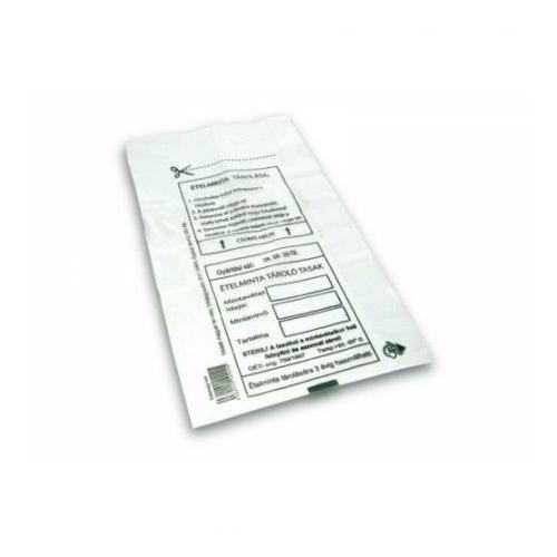 Ételminta tároló tasak (1000 tasak/csomag)