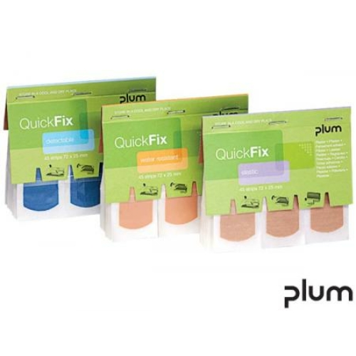 PLUM Quick Fix vízálló ragtapasz utántöltő (45 db/csomag)