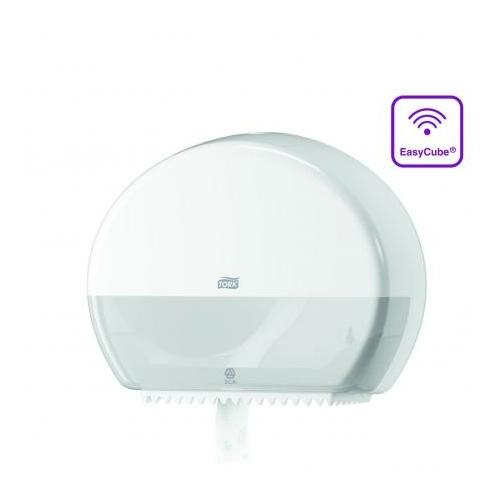 TORK 555000 Elevation Mini Jumbo toalettpapír-adagoló, műanyag, fehér