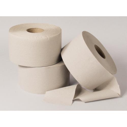 Toalettpapír, 1 rétegű, 19-es, natúr (12 guriga/zsugor)